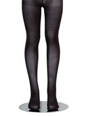 Black Piccolo Lightweight Baby Toddler Little Girls Tights 0M-16
