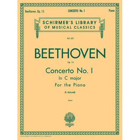 Concerto No. 1 in C, Op. 15 : National Federation of Music Clubs 2014-2016 Selection Piano
