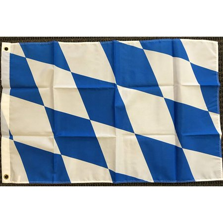 2x3 Bavaria Germany German Bavarian Flag Perfect for Octoberfest Oktoberfest New, Flags Importer By Flags Importer,USA