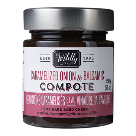 - Caramelized Onion & Balsamic Compote by Wildly Delicious (5.3 ounce)