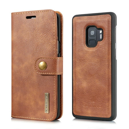san francisco b66eb 692be Samsung Galaxy S9 Case,Galaxy S9 Wallet Case,Mignova Magnetic Detachable  Wallet Case 2 in 1 Folio Flip PU Leather Cover Card Holder for Samsung  Galaxy ...