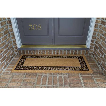 Fleur De Lis Living Frances Charleston Border Double Door Doormat