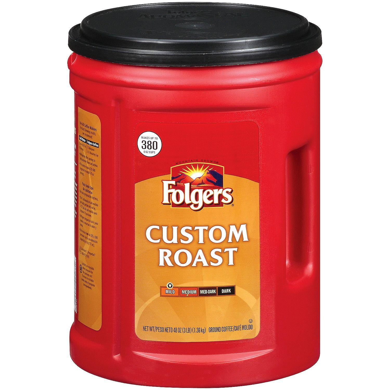 Folgers - Folgers Custom Roast Ground Coffee (48 oz.) - (...