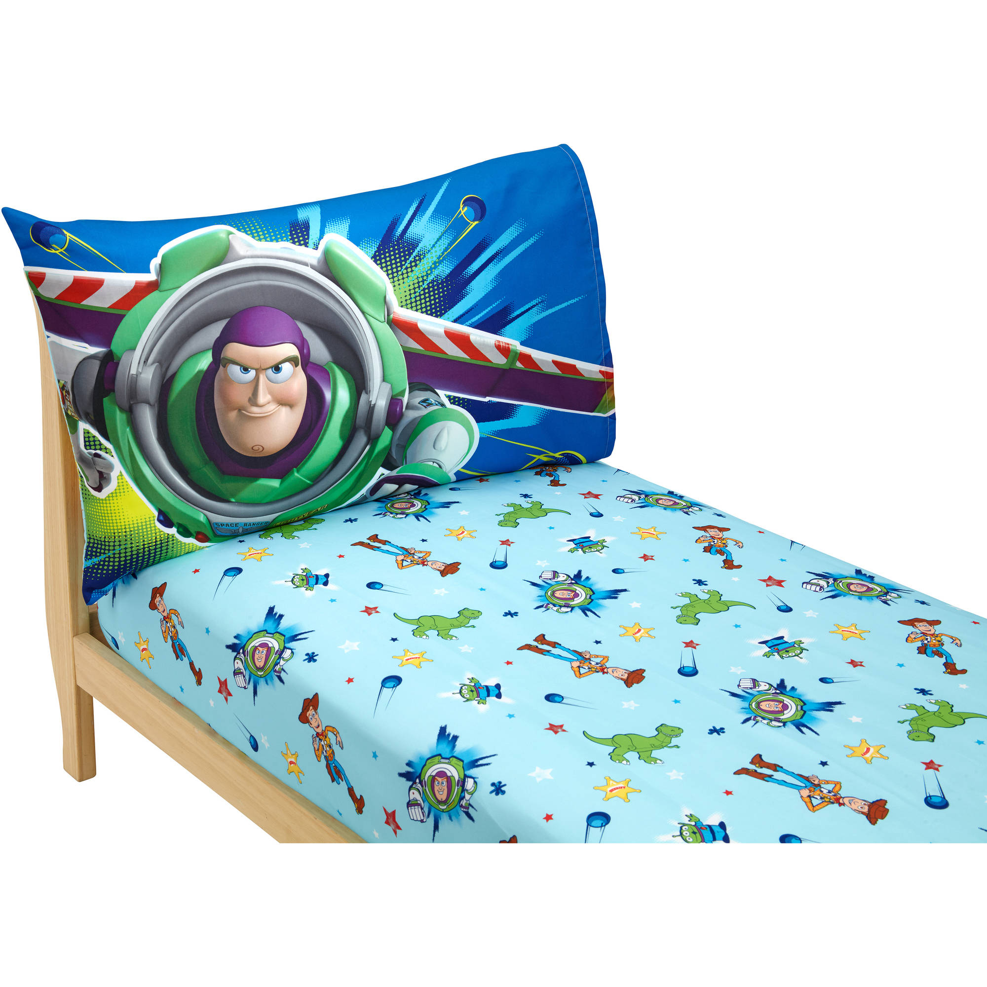 Disney Toy Story Power Up Toddler Sheet Set, 2-Pack