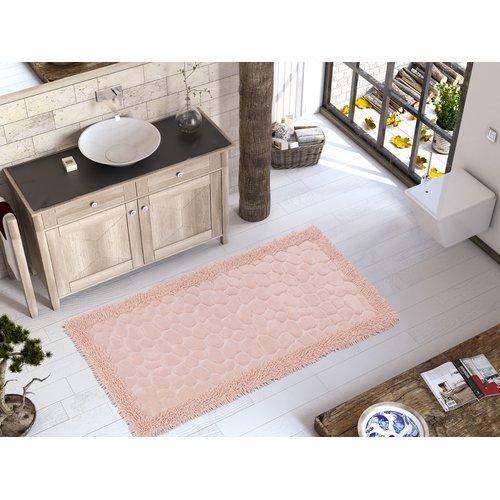Rosdorf Park Edgware Luxury Soft Cotton Patterned Stone Bath Rug