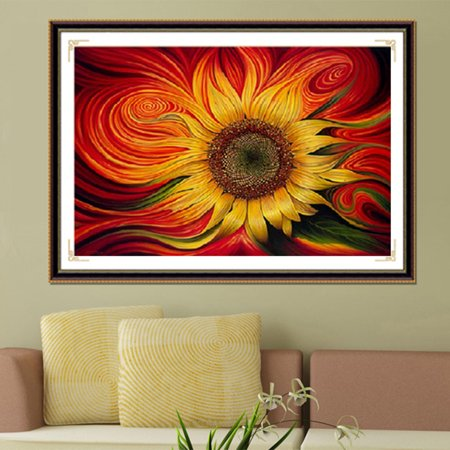 Beautiful Home Living Room Decorative Painting DIY 5D Full Resin Diamond Embroidery Painting Cross Stitch Kit