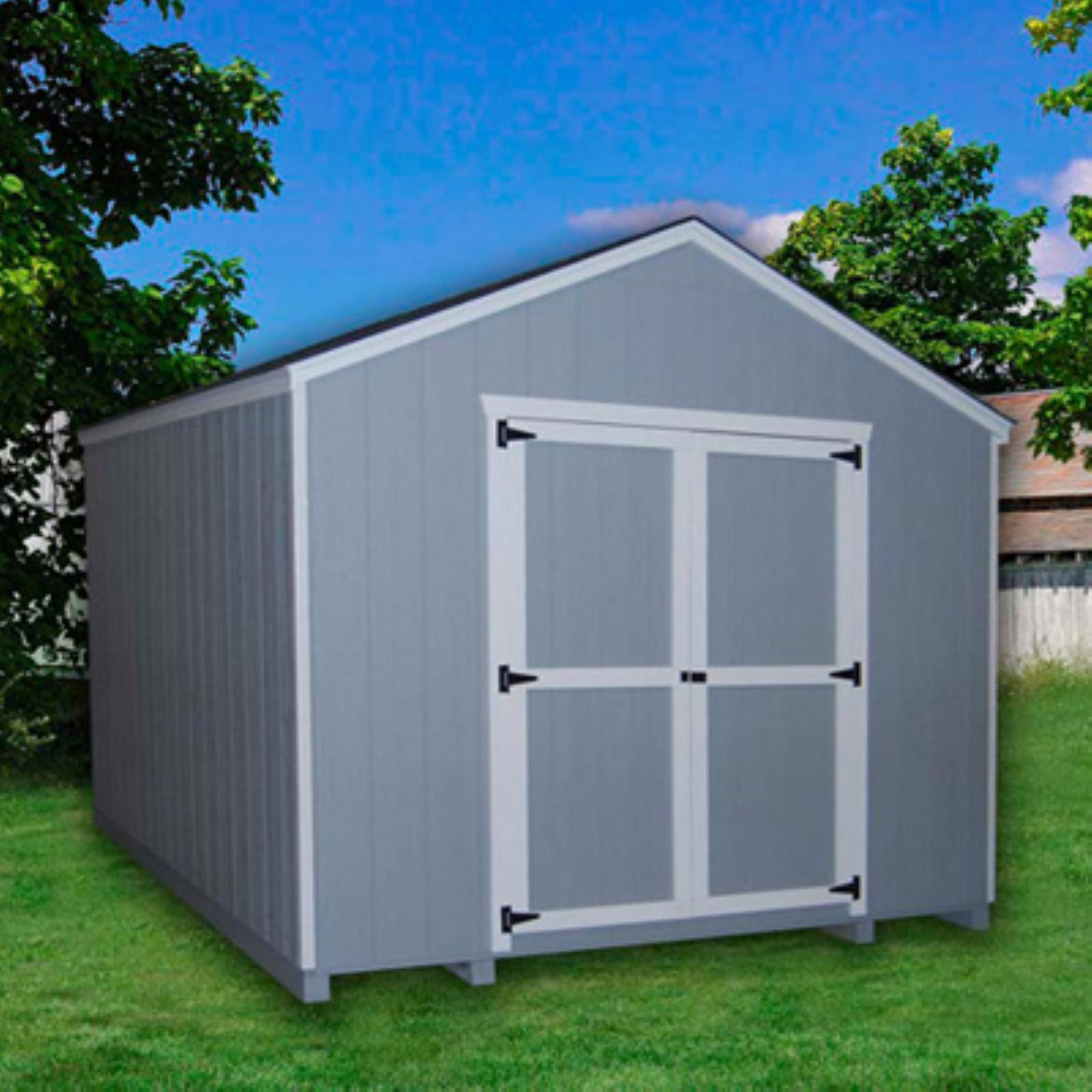 Little Cottage 24 x 12 ft. Value Gable Precut Storage Shed