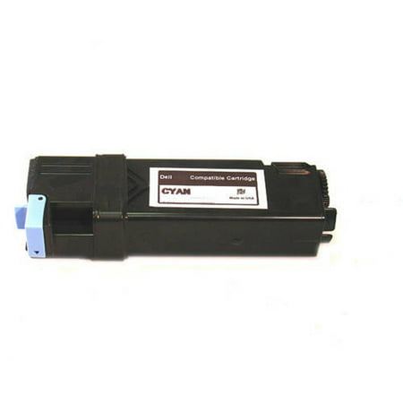 Universal Inkjet Premium Compatible Dell T107C Cartridge, High-Capacity Cyan