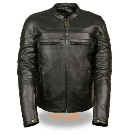 Milwaukee Event Mens Sporty Scooter Crossover Jacket Black