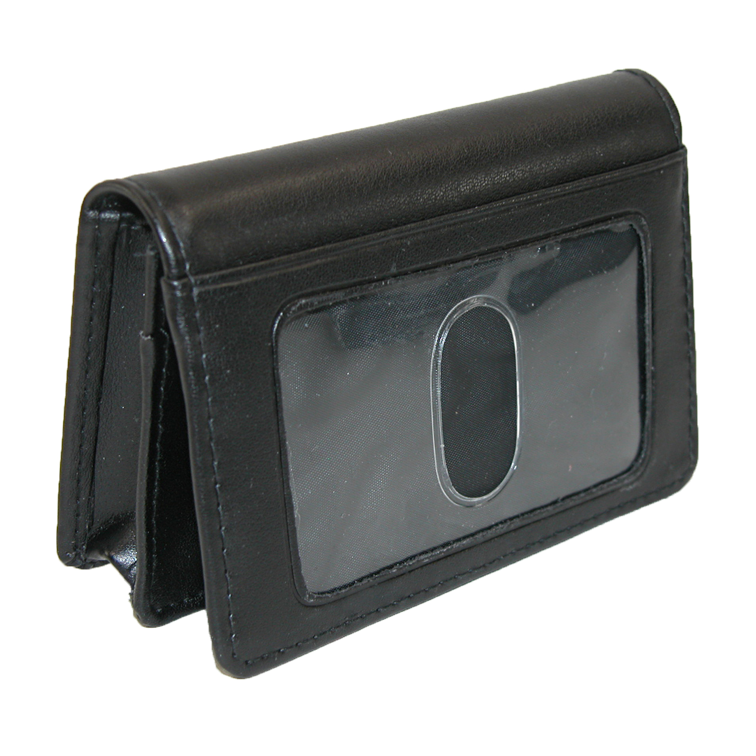 Buxton  Leather Business Card Holder with ID Window