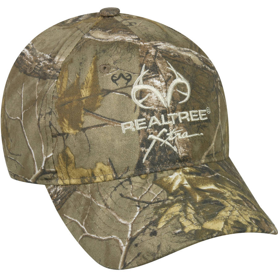 Realtree Camo Cap, Realtree Xtra Camo, Adjustable Closure