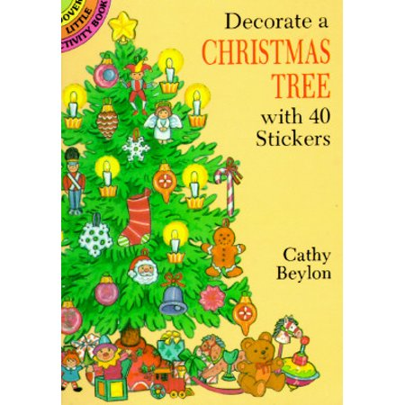 Decorate a Christmas Tree with 40 Stickers (History Of The Christmas Tree For Kids)