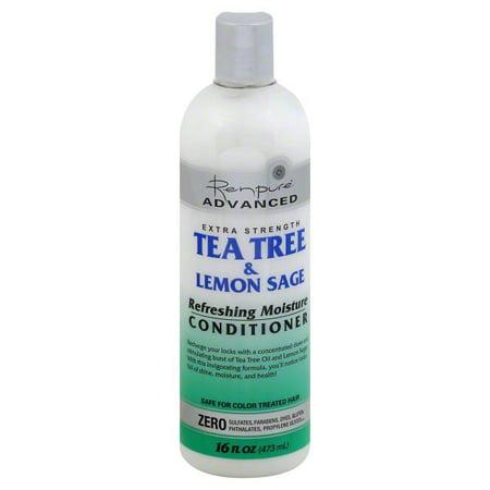 Renpure Advanced Extra Strength Tea Tree & Lemon Sage Refreshing Moisture Conditioner, 16 fl oz