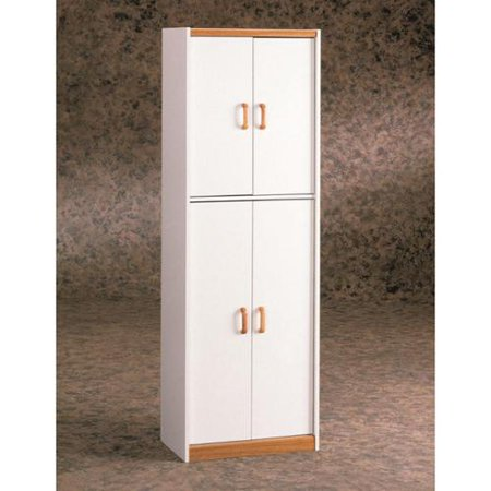 Altra home deluxe 72 inch kitchen pantry cabinet for Kitchen cabinets 72