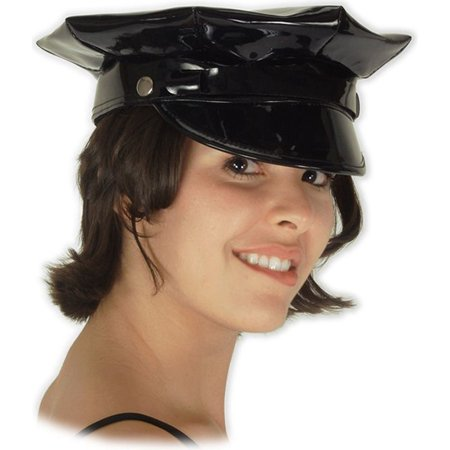 Morris Costumes Womens Police Sassy Vinyl Hat Adult Halloween Accessory (Cheap Police Woman Halloween Costumes)