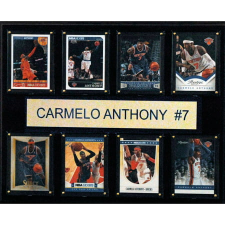 C Collectables Nba 12X15 Carmelo Anthony New York Knicks 8 Card Plaque