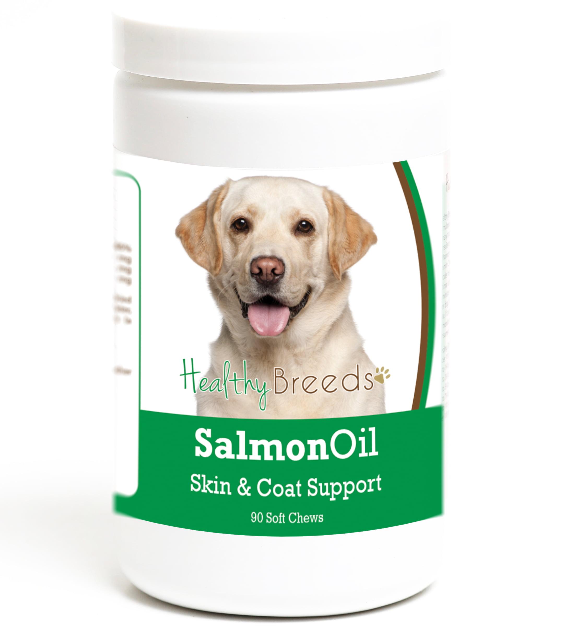 Healthy Breeds Labrador Retriever Salmon Oil Soft Chews 90 Count