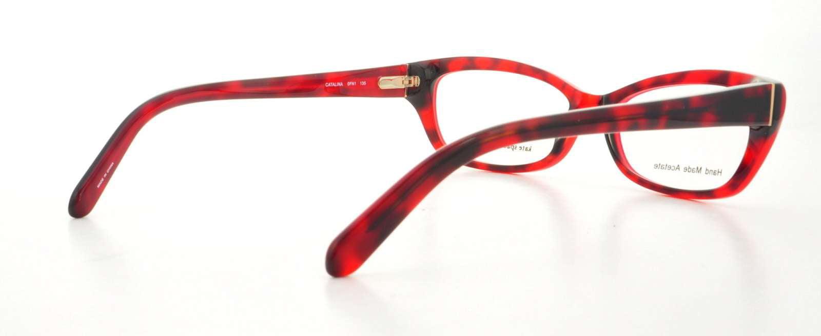 3c180f28fd4 KATE SPADE Eyeglasses CATALINA 0FN1 Red Havana 51MM - Walmart.com