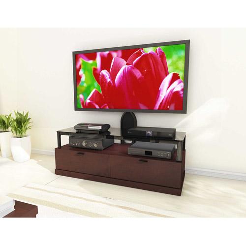 """Sonax Bandon 55"""" Wood Veneer Tv Bench Wi"""