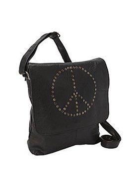 Sharo Peace Soft Leather Shoulder Bag