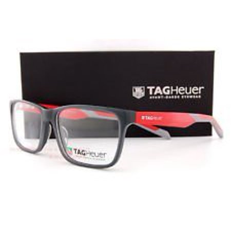 TAG Heuer Eyeglass Frames B URBAN 0552 004 Grey/Red Men Women TAG Heuer Eyeglass Frames B URBAN 0552 004 Grey/Red Men Women 56x18x145mm