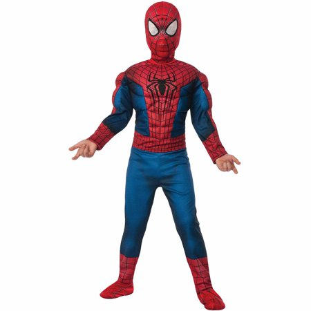 Spider-Man 2 Child Halloween Costume](Kids Amazing Spider Man Costume)