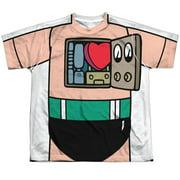 Astro Boy Costume (Front Back Print) Big Boys Sublimation Shirt