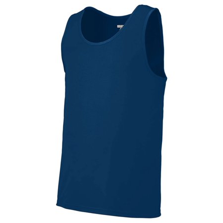- Augusta Sportswear Mens Double Needle Training Tank, Navy, 3XL, Style, 703