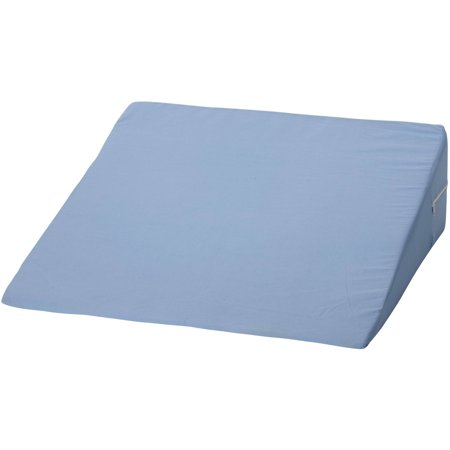 DMI Foam Bed Wedge Elevating Leg Rest Back Support Pillow, Blue, 7