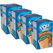 Kellogg's Pop-Tarts Breakfast Toaster Pastries, Unfrosted Brown Sugar Cinnamon Flavored, 14 oz 8 Ct