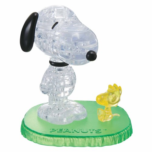 3D Crystal Puzzle, Snoopy with Woodstock