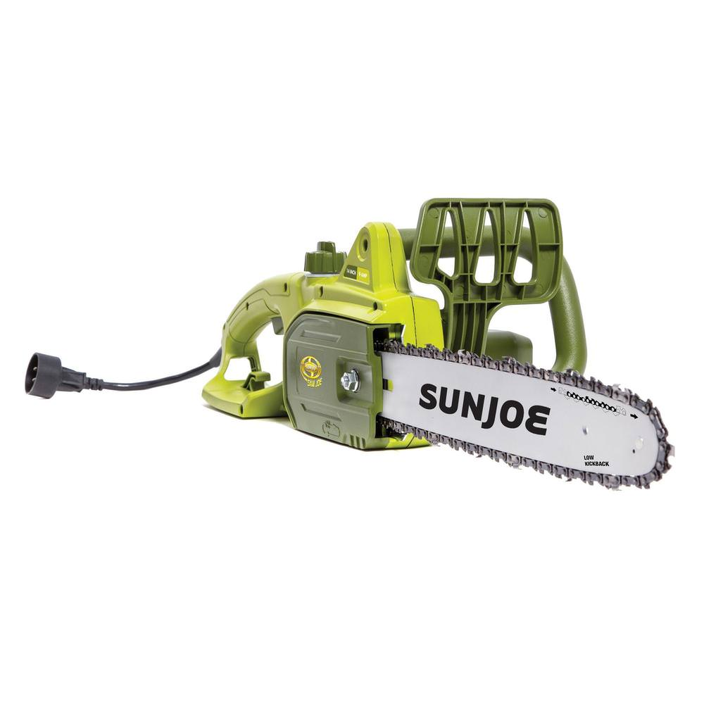 Sun Joe 14-Inch 9-Amp Electric Chain Saw