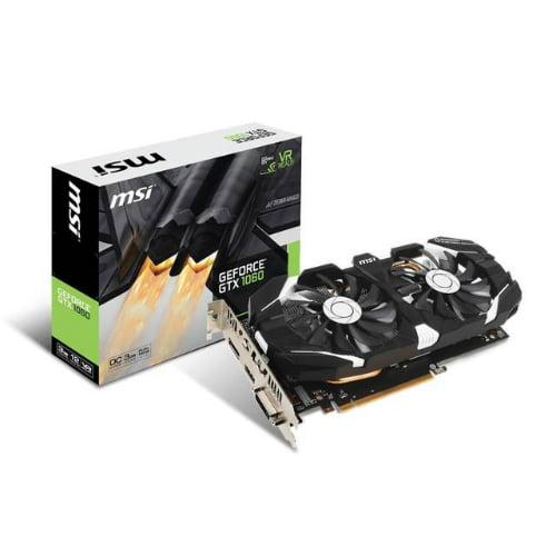 MSI GTX 1060 3GT OC GeForce GTX 1060 Graphic Card GeForce...
