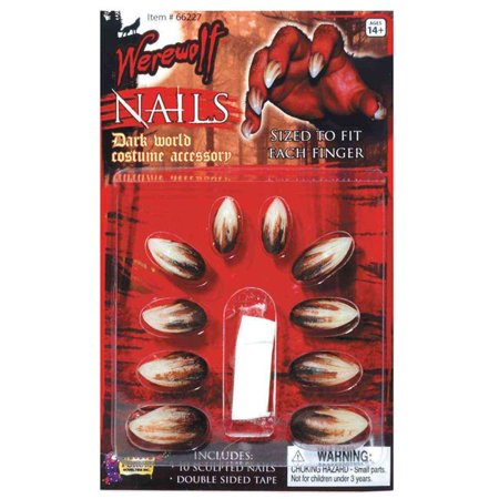 Morris Costumes FM66227 Werewolf Nails Costume
