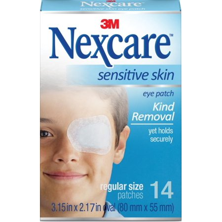 Nexcare Sensitive Skin Eye Patch 14 ea (Nexcare Hypoallergenic Eye Patch)