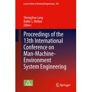 Proceedings of the 13th International Conference on Man-Machine-Environment System Engineering - eBook