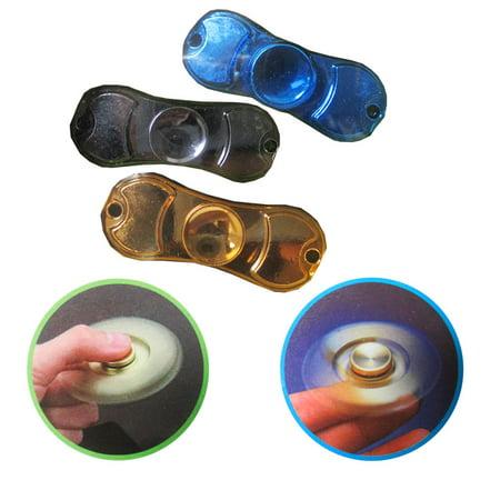 1 Fidget Spinner Finger Gyro Toy Metal Ball Hand Desk Focus ADHD Anti - Spinner Ball
