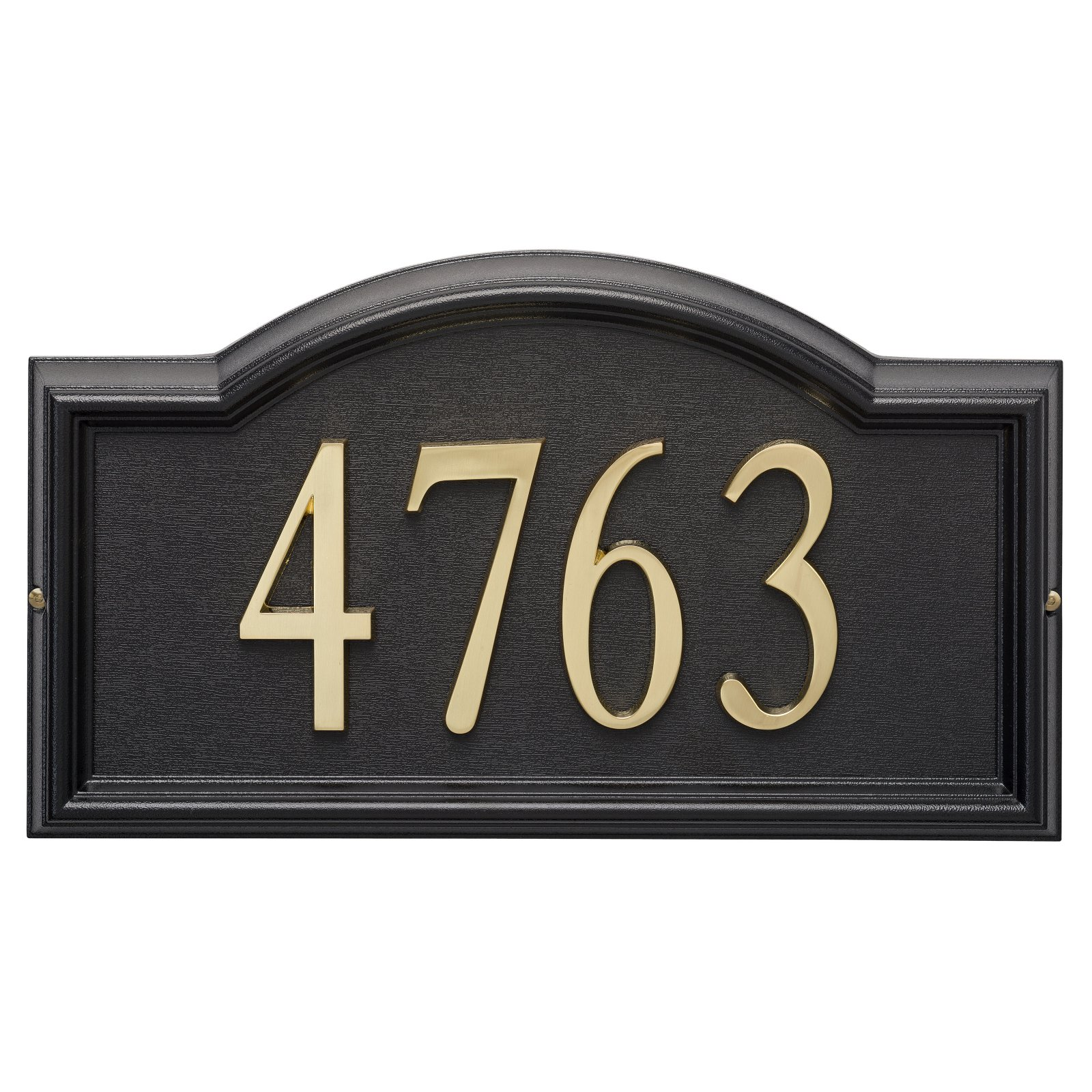Whitehall Design-it 4 in. Arch Address Sign
