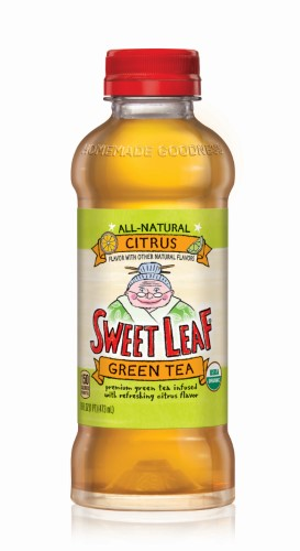 Sweet Leaf Organic Iced Tea, Green Tea Citrus, 16 Fl Oz, 12 Count by Nestle Waters North America