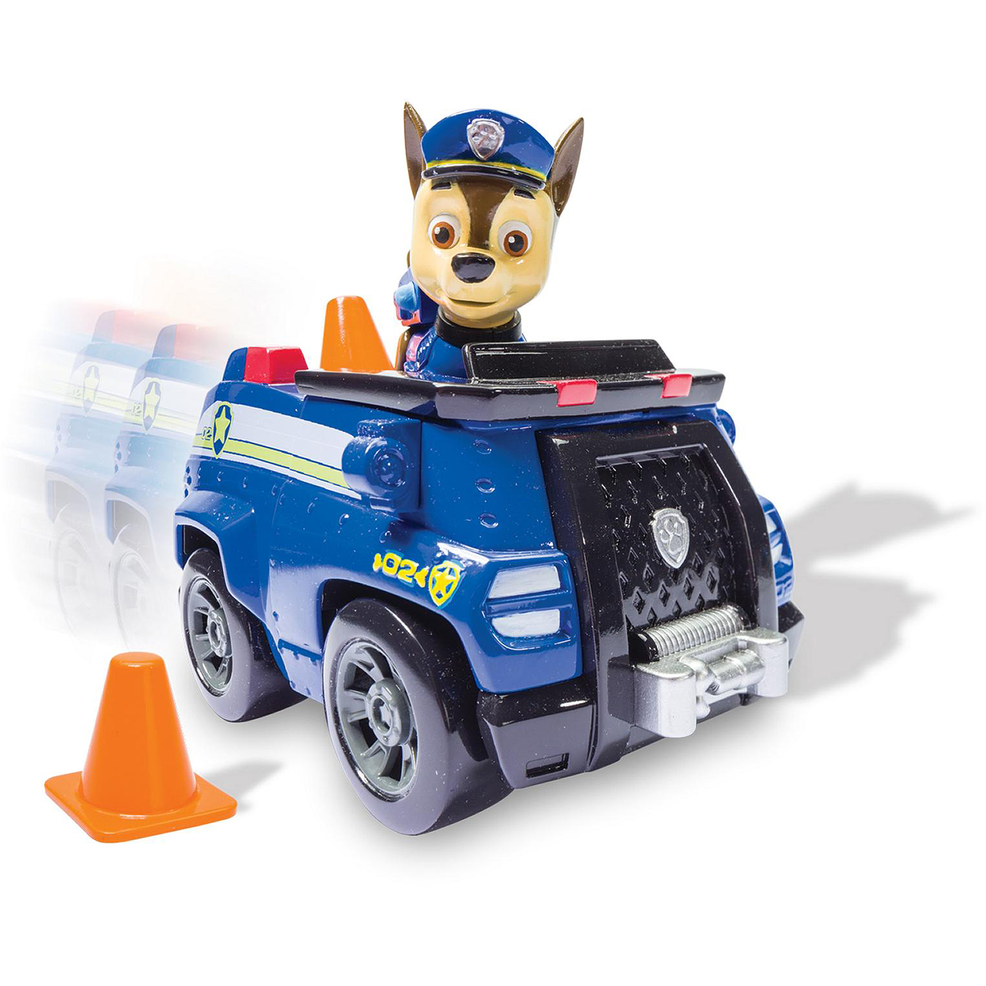 Nickelodeon Paw Patrol - Chase's Cruiser, Vehicle and Figure