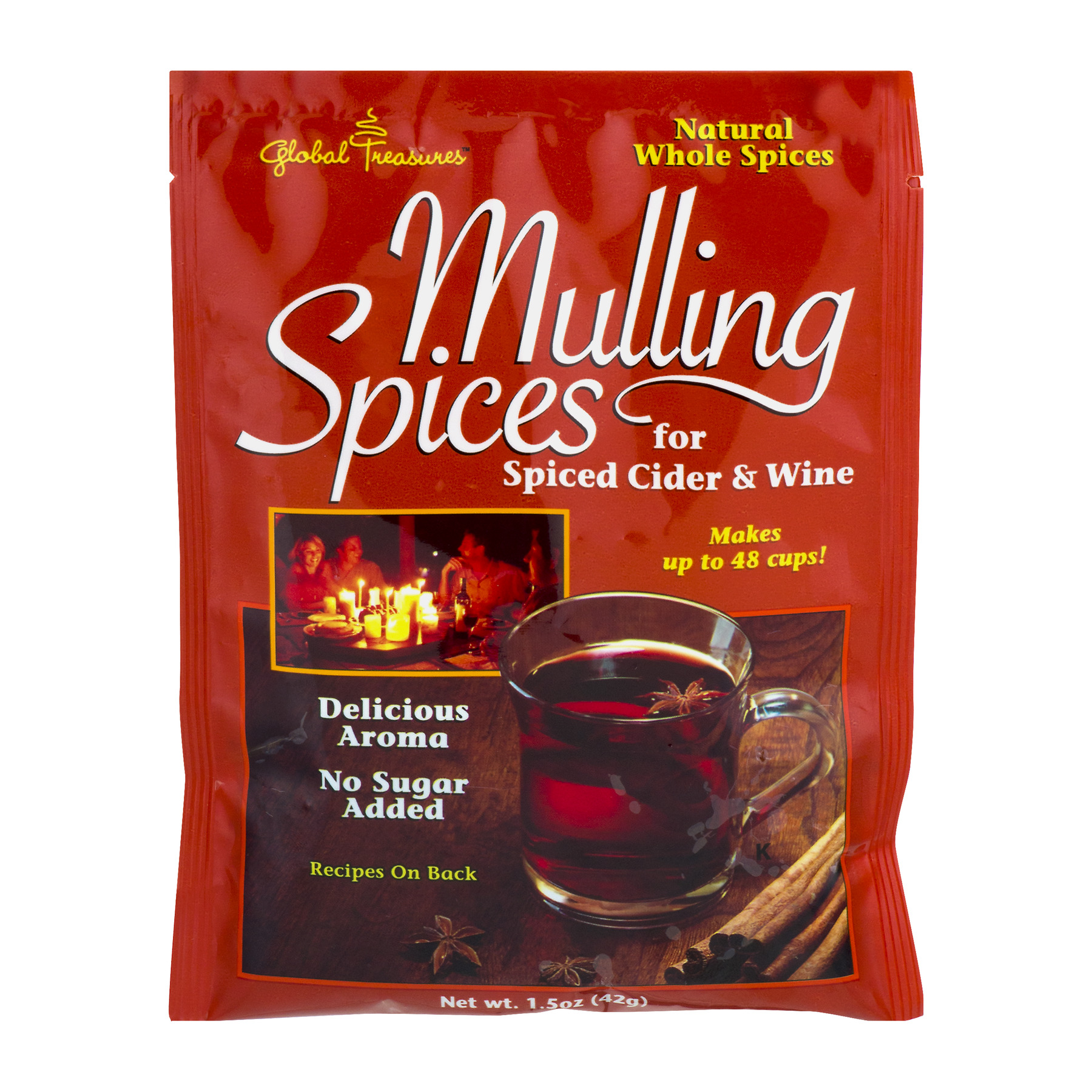 Global Treasures Mulling Spices, 1.5 OZ