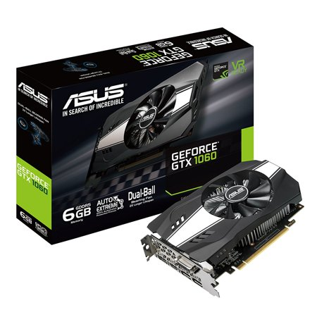 ASUS GeForce GTX 1060 6GB Phoenix Fan Edition VR Ready - (Rx 470 8gb Vs Gtx 1060 6gb)