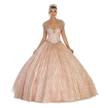 SWEETHEART DESIGNER QUINCEANERA GOWN (Quinceanera Dresses)