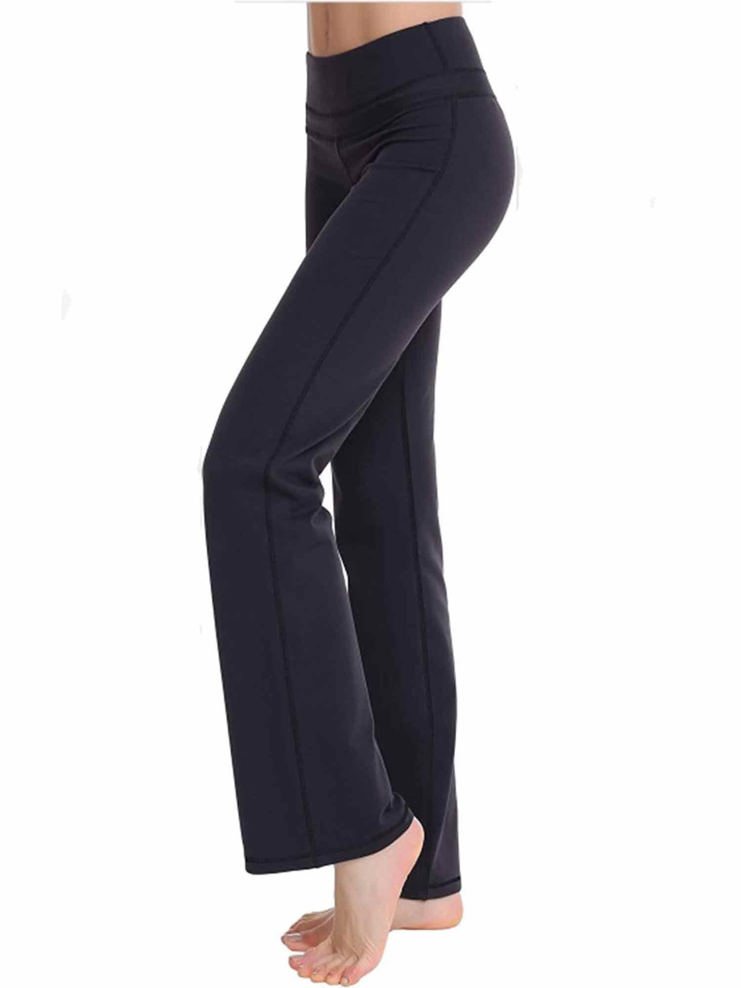 Women Ladies Bootcut Yoga Pants