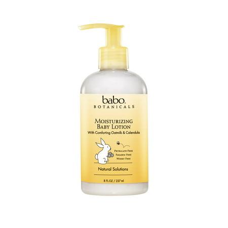 Babo Botanicals Hydratante Lotion pour bébés, Oatmilk Calendula, 8 Oz