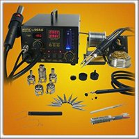 Aoyue 968A+ 4 in 1 Digital Hot Air Rework and Soldering Station