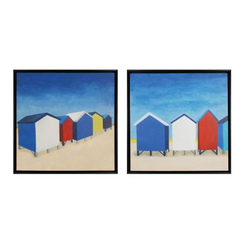 "Sterling Industries 10216-S2 25"" Art Prints - Beach Retreat I and II - Set of Tw"