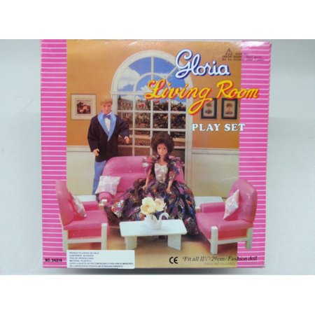 Gloria Living Room Furniture for Dolls & Dollhouse