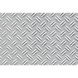 1:16 Double Diamond Plate Sheet, 7.5