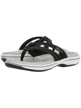 90f6121bf Product Image Skechers BAYSHORE HIDDEN SPRINGS Womens Black Thong Flip Flop  Sandals